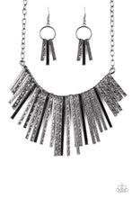 Load image into Gallery viewer, Welcome To The Pack - Black  Necklace 36n