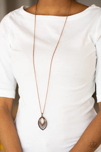Court Couture - Copper Necklace 1109N