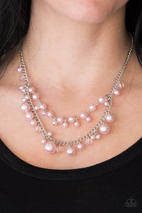 Blissfully Bridesmaids - Pink Necklace