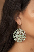 Load image into Gallery viewer, Ocean Paradise - Green  Earring