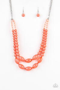 Sundae Shoppe - Orange Necklace 1162N