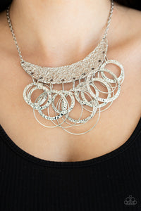 Metro Eclipse - Silver Necklace 1258N
