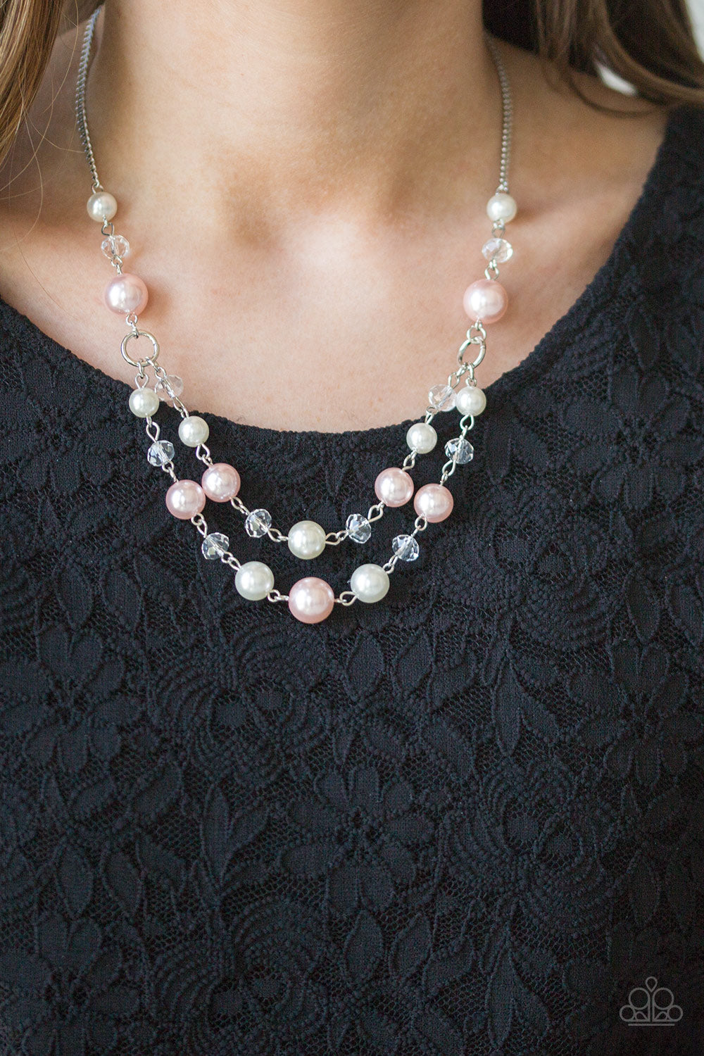 The BRIDESMAID - Pink Necklace