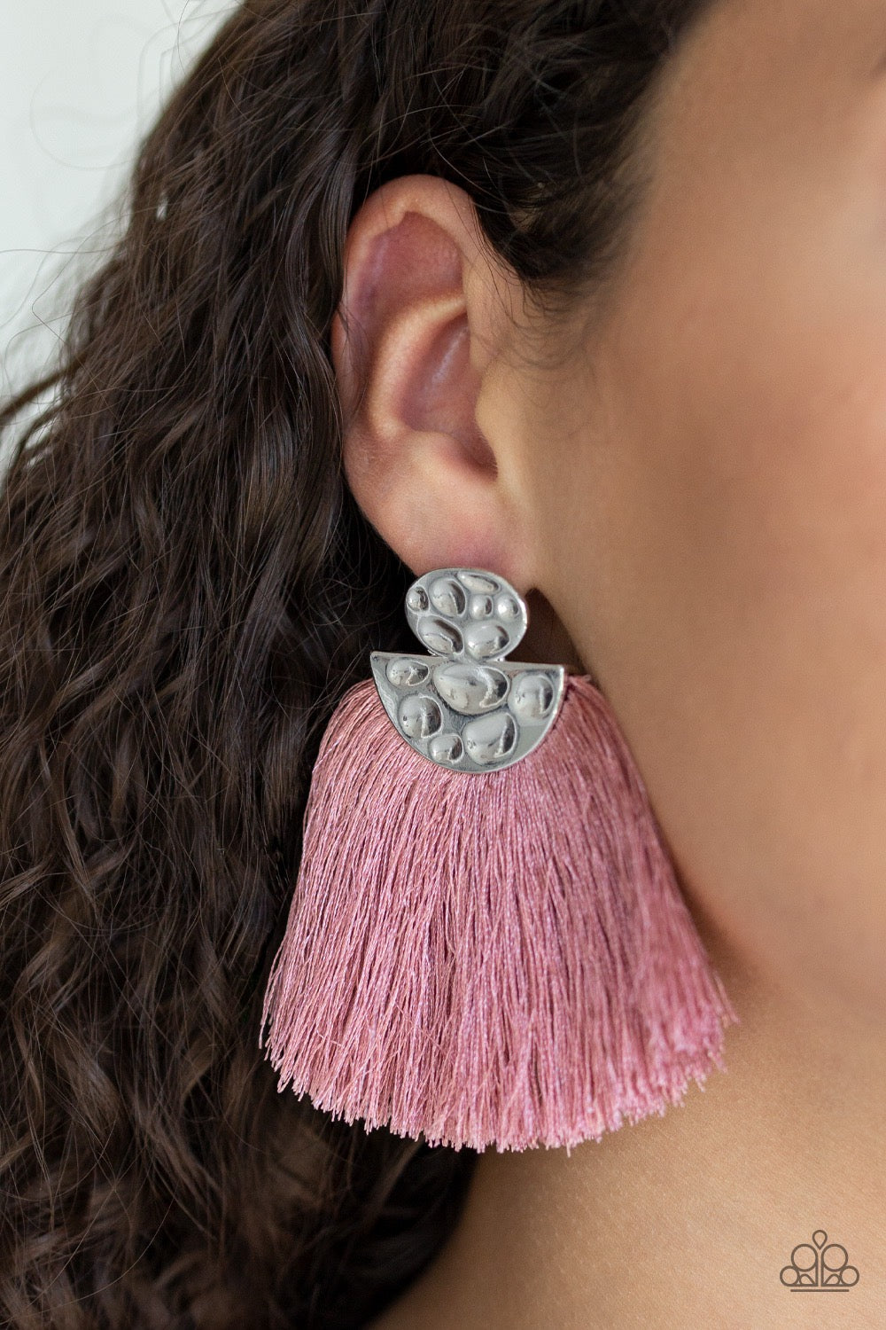 Make Some PLUME - Pink Earring 17E