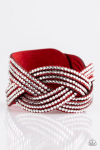 Load image into Gallery viewer, Big City Shimmer - Red Bracelet