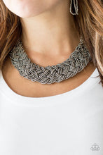 Load image into Gallery viewer, Mesmerizing Mesopotamia - Black Necklace