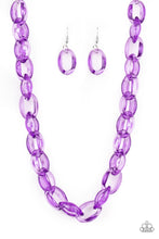 Load image into Gallery viewer, Ice Queen - Purple Necklace