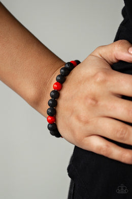 All Zen - Red Bracelet