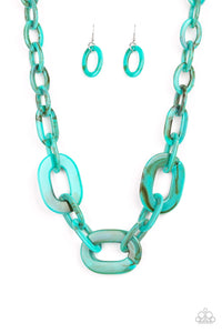 All In - VINCIBLE - Blue Necklace 20n