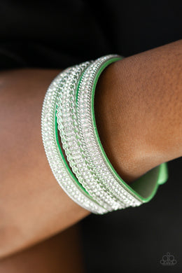 Dangerously Drama Queen - Green Urban Bracelet