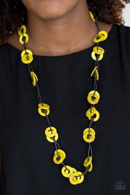 Waikiki Winds - Yellow Necklace