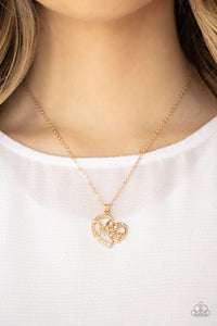 Momma Moments - Gold Necklace 2575N