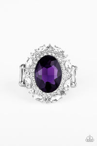 Show Glam - Purple Ring