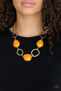 Haute Heirloom - Orange Necklace 44n