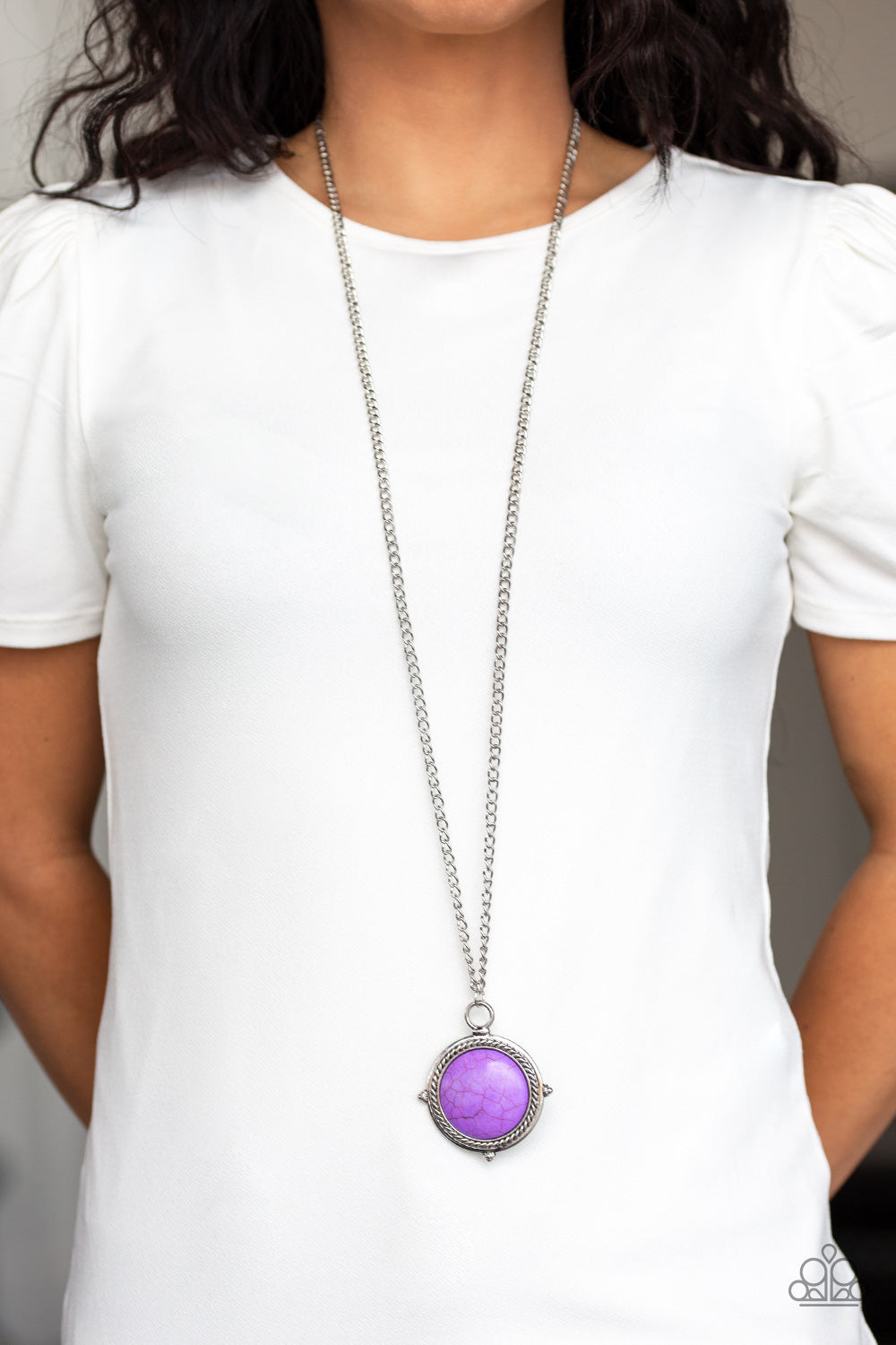 Desert Equinox - Purple Necklace 2603N