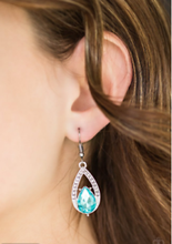 Load image into Gallery viewer, Gatsby Grandeur - Blue Earring