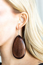Load image into Gallery viewer, Beach Bride - Brown Earring