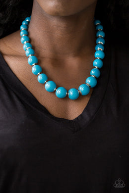 Everyday Eye Candy & Candy Shop Sweetheart - Blue Necklace and Bracelet Set