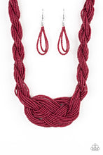 Load image into Gallery viewer, A Standing Ovation - Red Necklace 1189N
