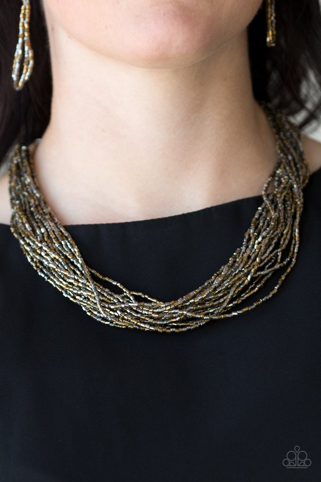 The Speed of STARLIGHT - Multi  Necklace 1185N