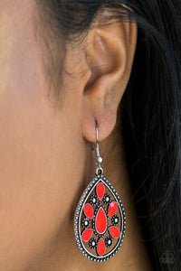 Spring Arrival - Red Earring 2546E