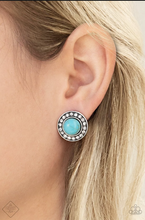 Load image into Gallery viewer, Sahara's Finest - Blue Post Earring