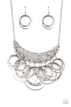 Load image into Gallery viewer, Metro Eclipse - Silver Necklace 1258N