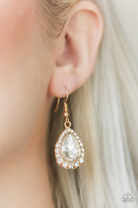 Self - Made Millionaire - Gold Earring  2534E