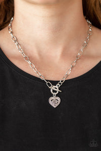 Say No Amour - Silver Necklace