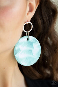 Beach Bliss - Blue  Earring 33E