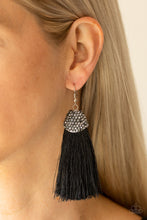 Load image into Gallery viewer, Razzle  Riot - Black Earring 36E
