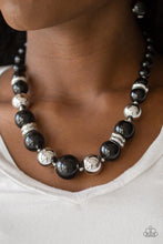 Load image into Gallery viewer, New York Nightlife - Black Necklace