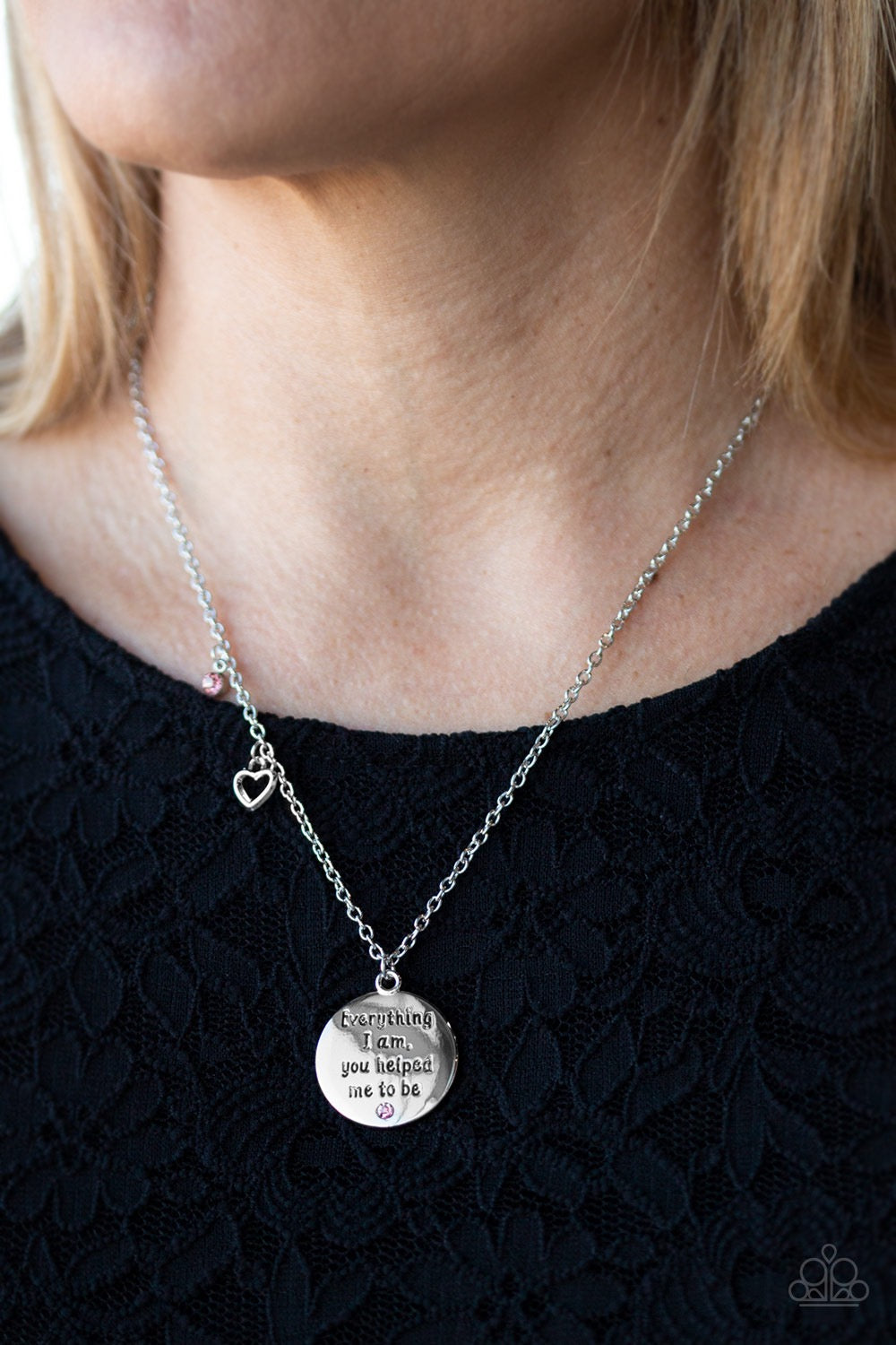 Everything I Am - Pink Necklace 2574N