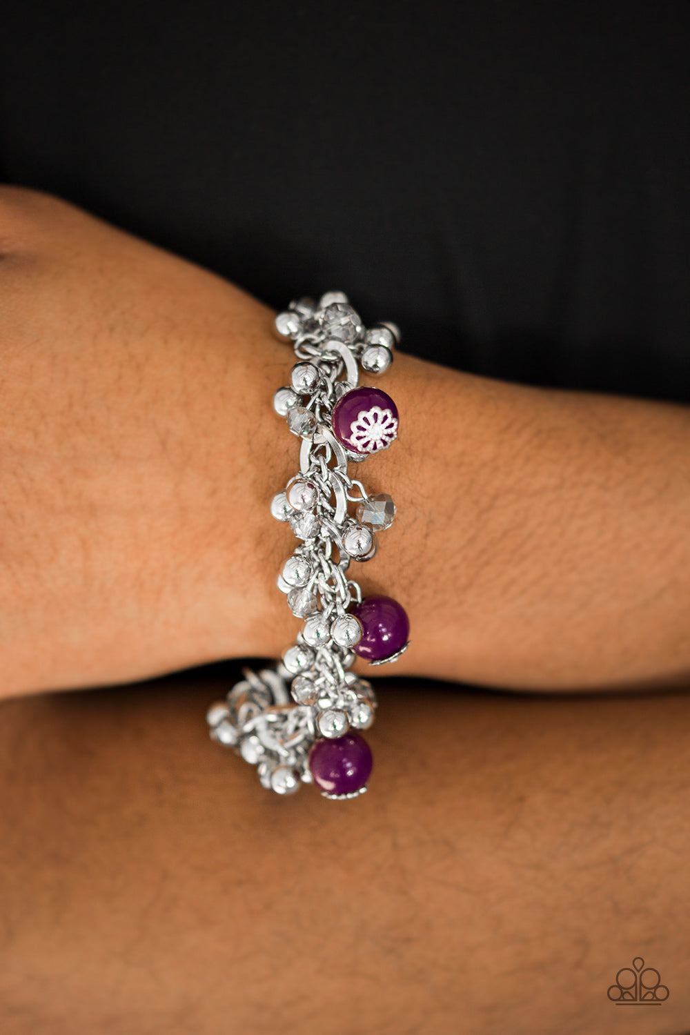 Pretty In Posh - Purple Bracelet