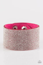 Load image into Gallery viewer, Roll With The Punches - Pink Bracelet