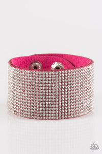 Roll With The Punches - Pink Bracelet