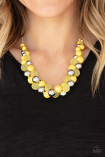 Load image into Gallery viewer, Bubbly Brilliance - Yellow Necklace 1238N