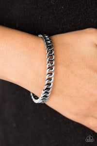 Might and CHAIN - Silver Bracelet