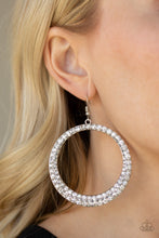 Load image into Gallery viewer, So Demanding - White Earring 89E