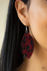 GRR - irl Power ! - Red Earring 102E