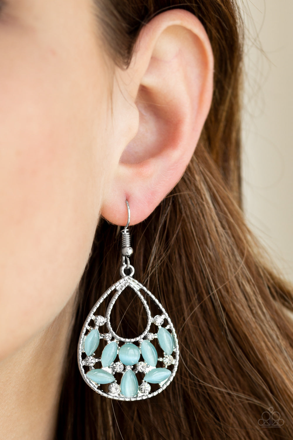 Just DEWing Thing - Blue Earring 2563E