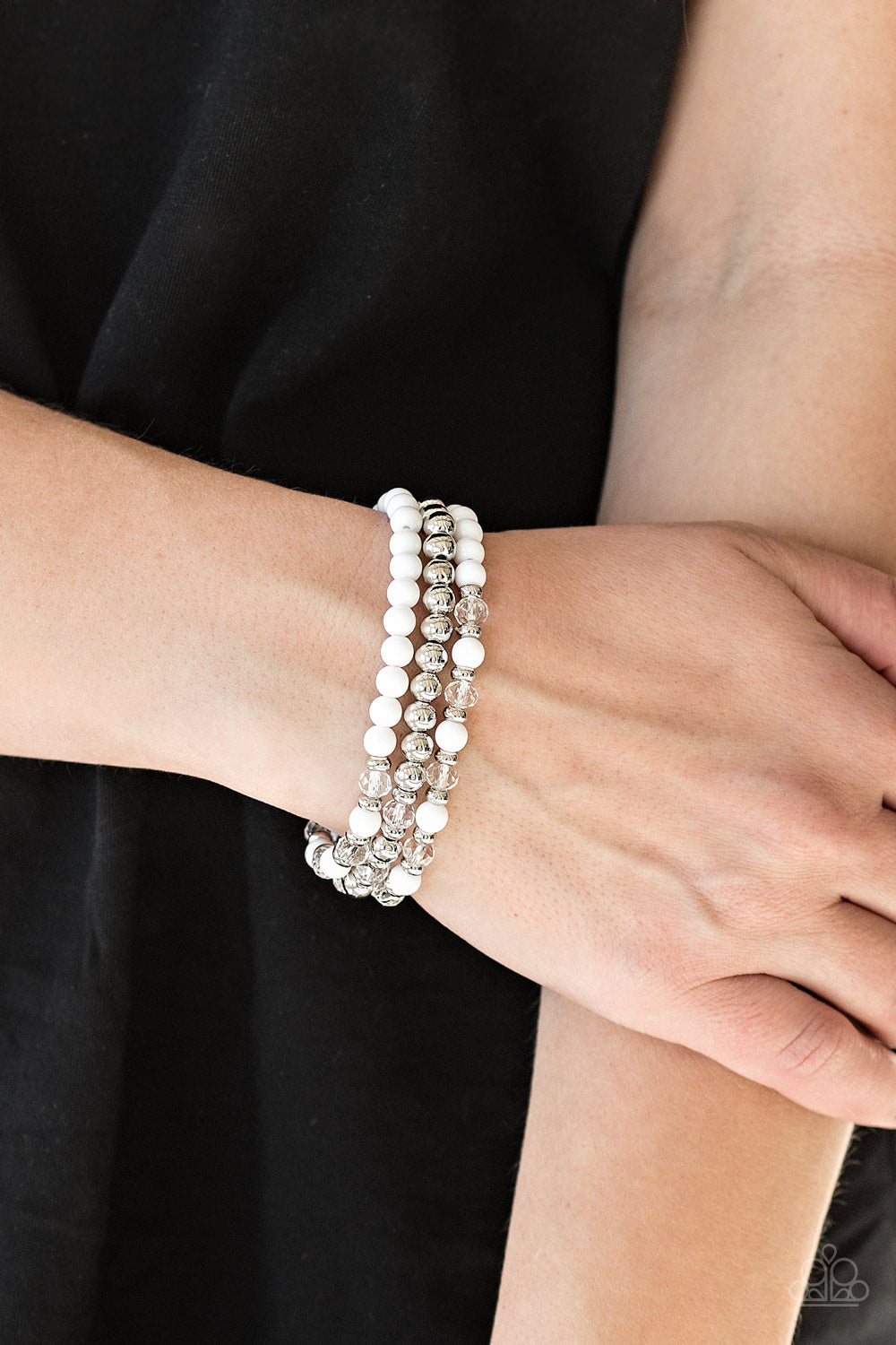 Irresistibilly Irresistible -  White Bracelet