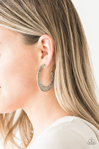 The HOOP Up - Silver Earring 2511e