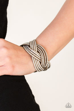 Big City Shimmer - Brown Bracelet
