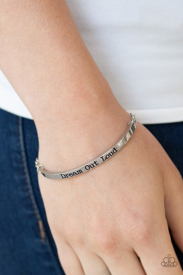 Dream Out Loud - Silver Bracelet 11B