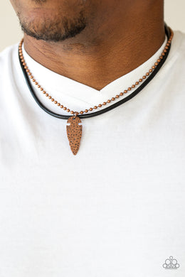 Arrowhead Anvil - Copper Urban Necklace