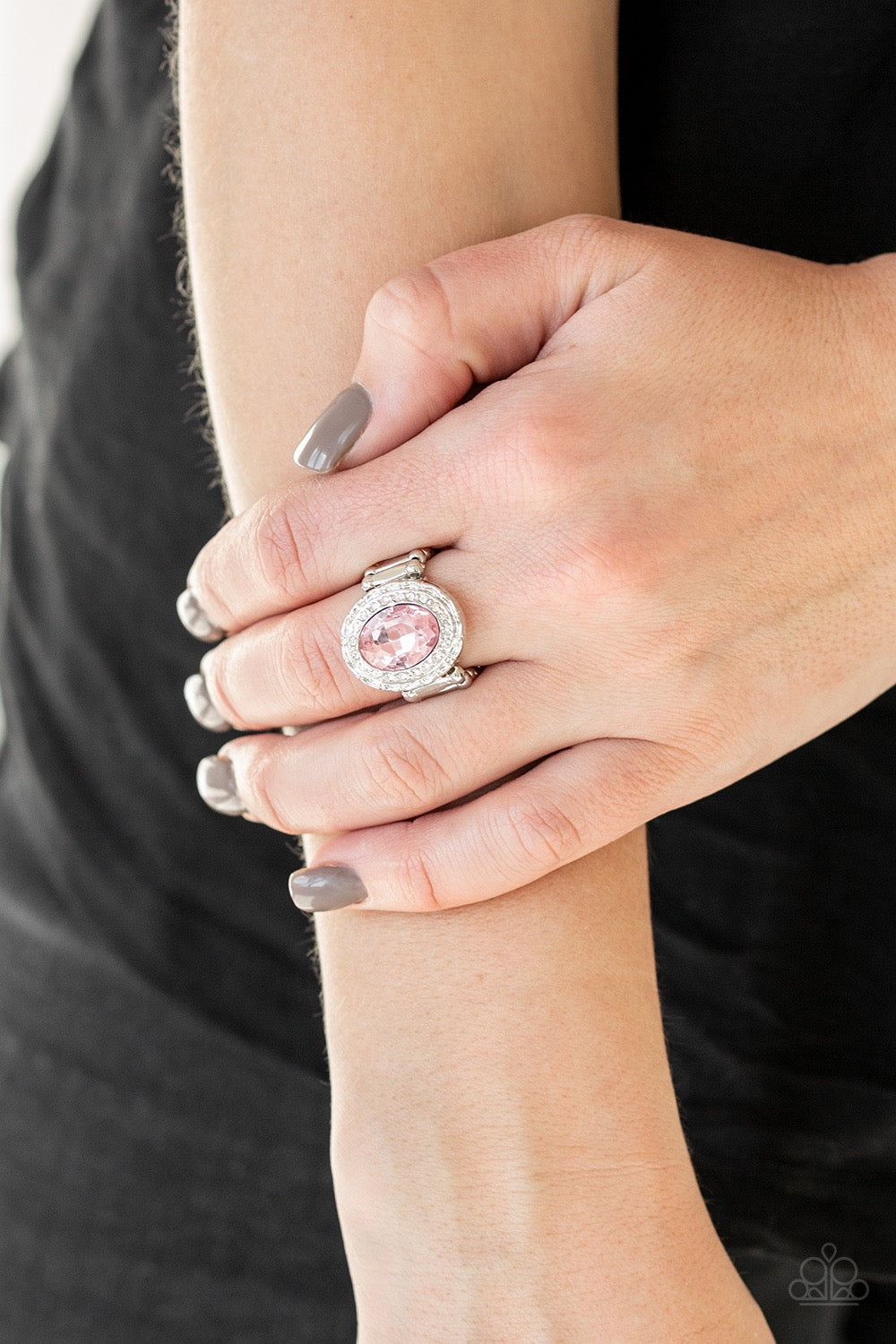 Fiercely Flawless - Pink Ring 3025R