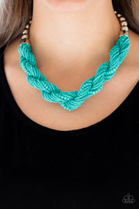 Savannah Surfin - Blue Necklace 57n
