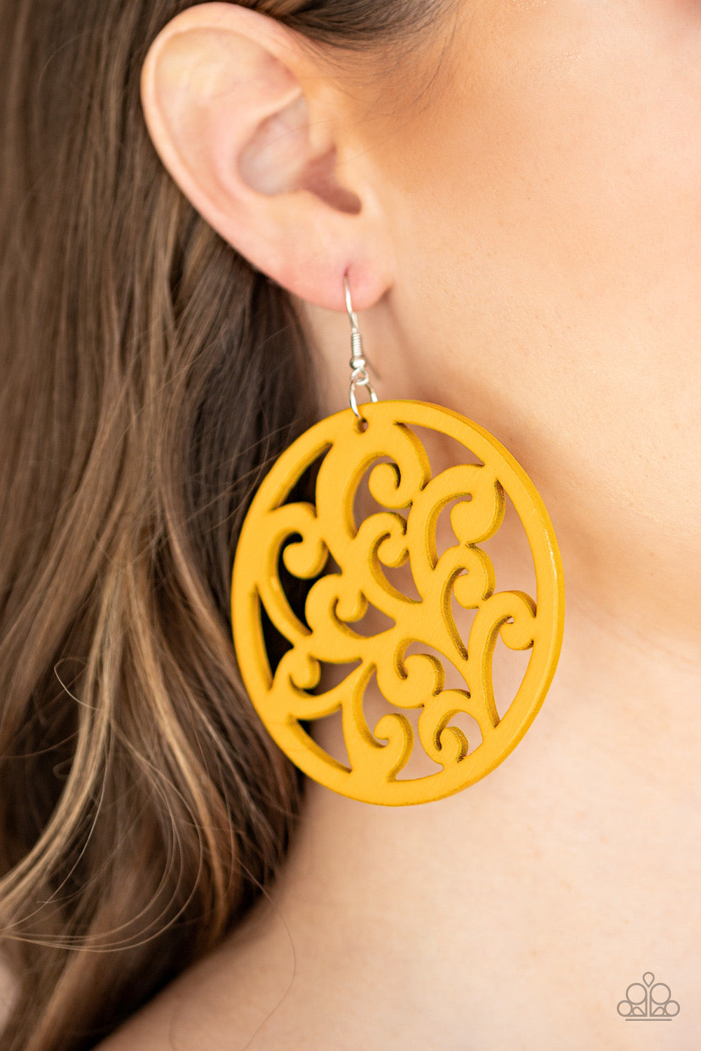 Fresh Off The Vine - Yellow Earring 2678E