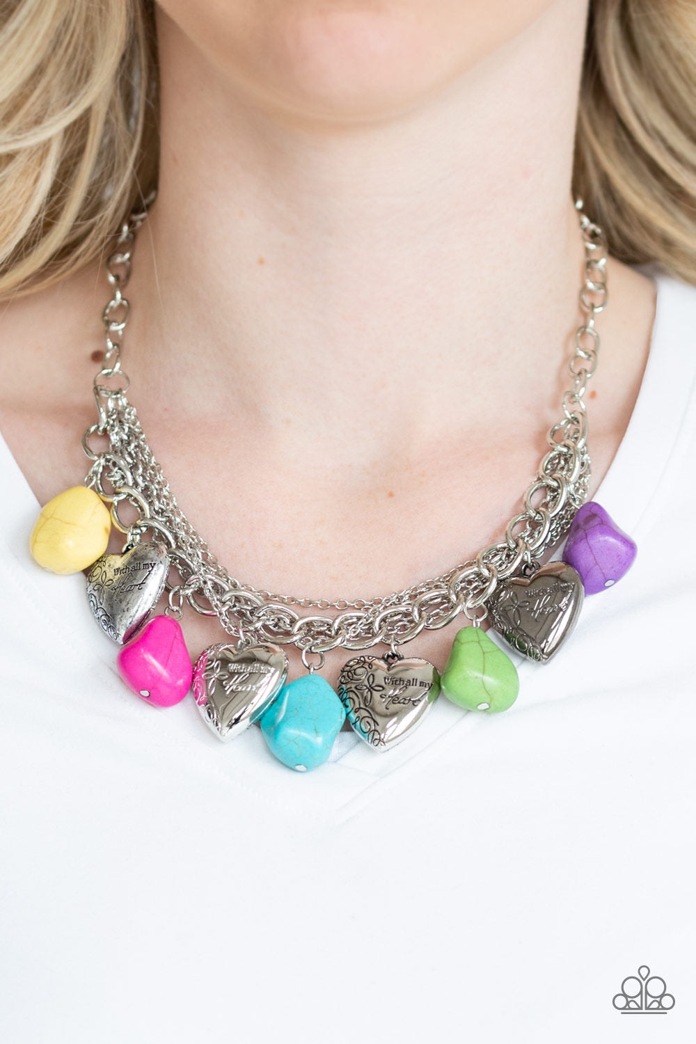 Change of Heart - Multi Necklace 1204N